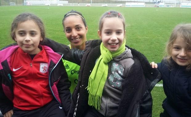 Les jeunes U8.U9 du FC Lyon en bonne compagnie