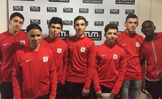 Les U17 du FC Lyon sur le plateau de TLM