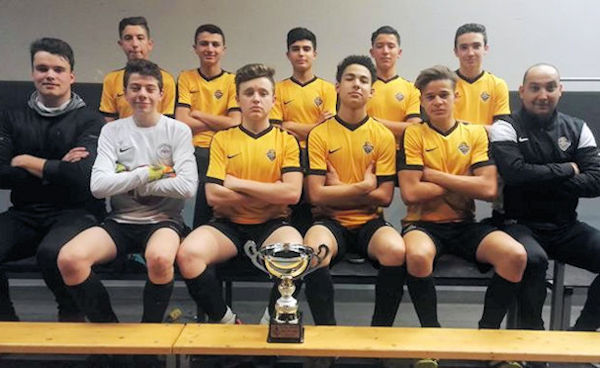 Le U17 de Futsal Saône Mont d'Or viseront le titre à Seyssinet
