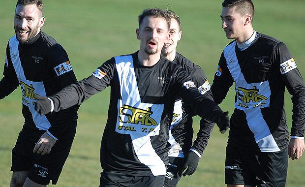 Saliu vient de donner l'avantage à la réserve du Chassieu-Décines FC