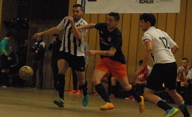 Intenable vendredi soir avec Foot Salle Civrieux, Saez avait montré la voie en inscrivant deux buts avant de sortir sur blessure