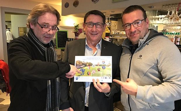 De gauche à droite Denis Dupont, Pascal Paysant et Stéphane Conseil