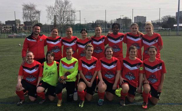 5/5 pour les filles de Sud Lyonnais Foot 2013 en Excellence