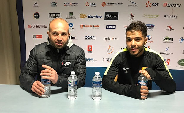 Karim Mokeddem et Sofiane Atik en conférence de presse