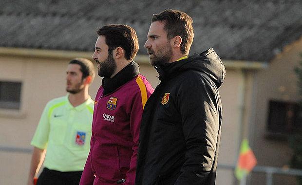 Clément Guillot, l'entraîneur de MDA Chasselay