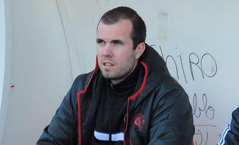 Sébastien Riche, le co-entraîneur du CS Méginand)