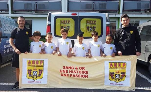 Les U9 de l'AS Saint-Priest ont participé à l'European Cup à Bruxelles