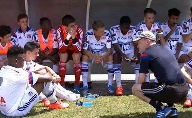 """OL Académie - Cyrille DOLCE (U15 OL) : """"Admiratif de mes joueurs..."""""""