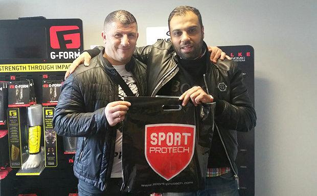 Aziz Ghelamallah et Ali Nechad (FC Ménival)