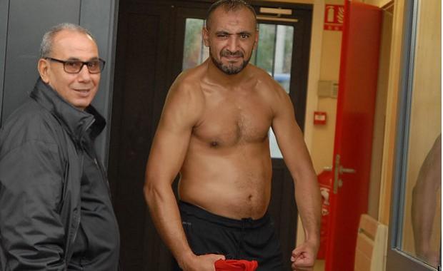 Rachid Benayen a montré les muscles en marquant à la quetre-vingt neuvième minute de jeu pour le FC Vaulx