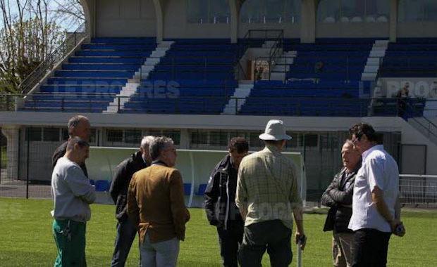 Le stade Chouffet de Villefranche a fait peu neuve (photo : www.leprogres.fr)