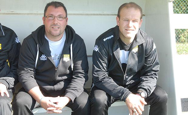 Cédric Voisin et Richard Rollet (FC Val Lyonnais)