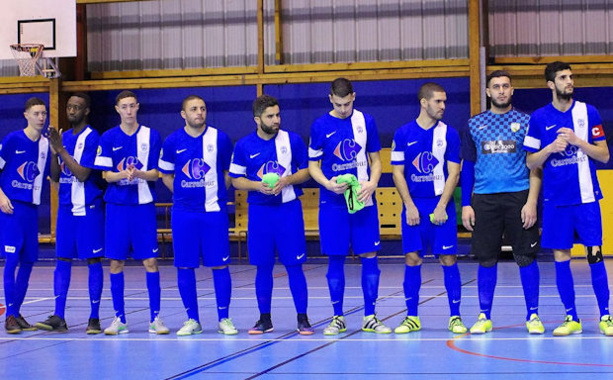 L'AS Minguettes a mis dix sept buts face à Chassieu Futsal !