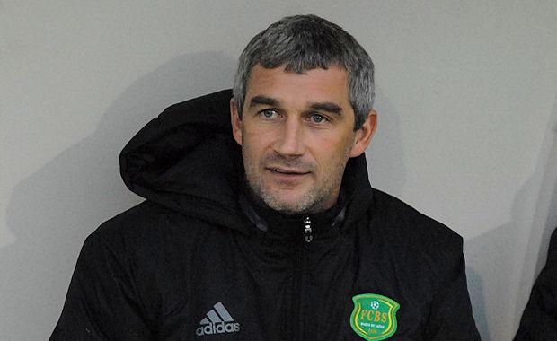 Greg Balfin, l'entraîneur de la réserve du FC Bords de Saône