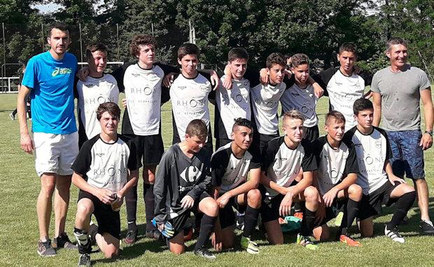 Les U15 de l'Entente Jeunes Vauxonne ont gagné leur billet pour la finale de la Coupe du Beaujolais
