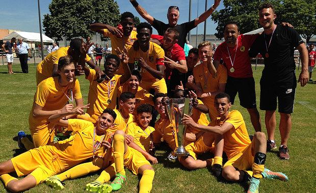 La Coupe du Rhône U15 pour Lyon-Duchère AS
