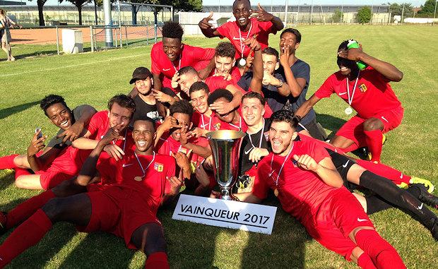 Une Coupe du Rhône pour les U19 de l'US Vénissieux
