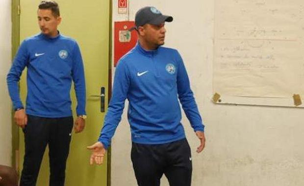 Mohamed Denden, le coach des U17 de l'AS Minguettes