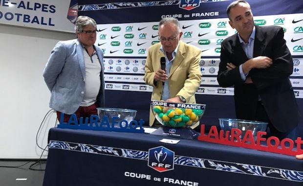 Coupe de France (tirage 3ème tour) - La grosse cote pour l'ES ODENAS-CHARENTAY, CALUIRE mal servi, les gros épargnés