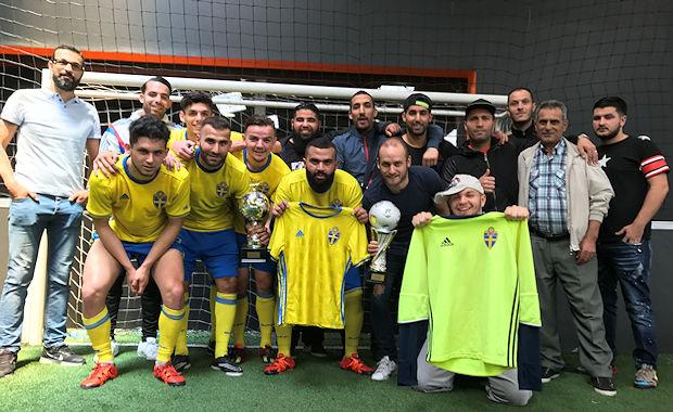 La Team Bel Air avait remporté la Ligue JML au Sun Set Soccer de Mions la saison dernière