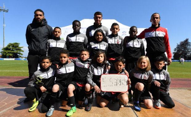 L'ES Trinité, c'est aussi et surtout des U12 vianqueurs régionaux de la Danone Cup la saison dernière
