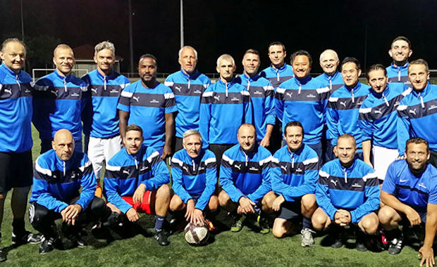 Les vétérans du FC Chaponnay-Marennes ont frappés 11 fois !