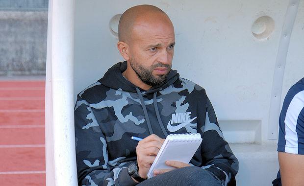 Amile Allibrandi, l'entraîneur de l'ES Charly