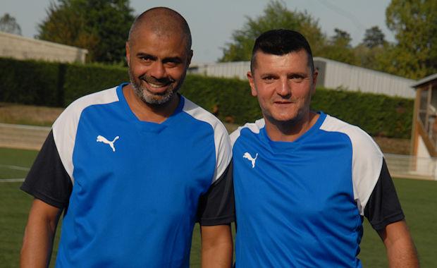Slim Hadjri (à gauche) et François Villebrun (à droite), un duo coach-adjoint qui fonctionne à l'AS Bron GL