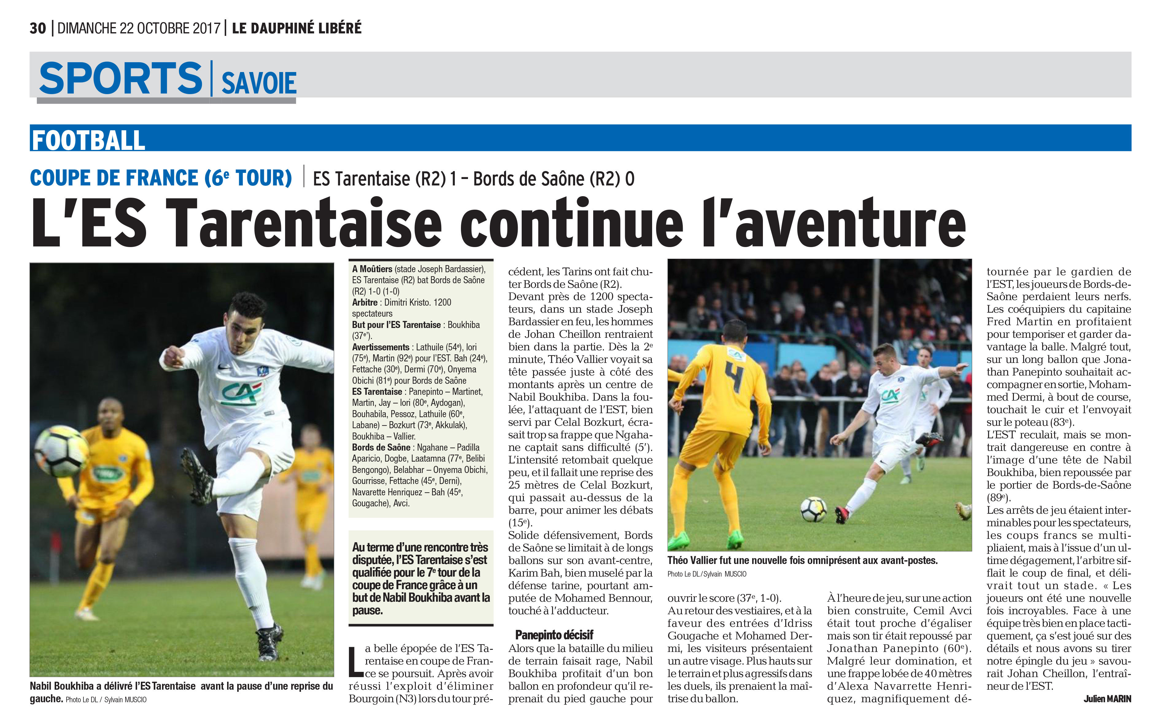 """Coupe de France - Pascal ROUSSET : """"On a bien failli relever le challenge !"""""""