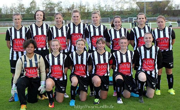 Les féminines du Chassieu-Décines FC