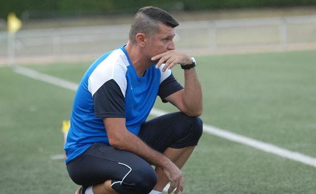 """Coupe de France (AS Bron) - F. VILLEBRUN : """"Il nous faudra emballer le match !"""""""