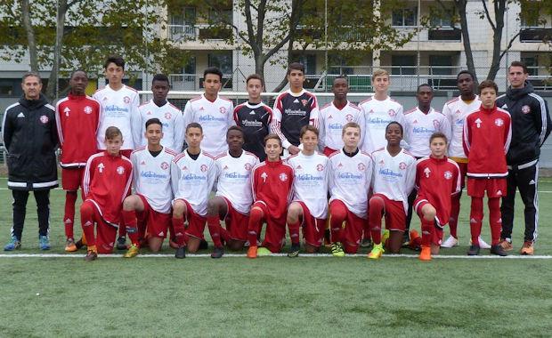 10 victoires de suite pour les U15 de l'AS Montchat en PL