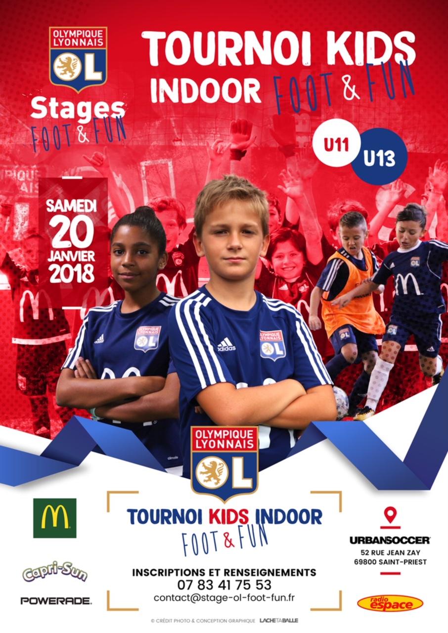 U11-U13 - Grand tournoi INDOOR le 20 janvier