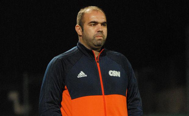 Majid Hassaïne, le coach du CS Neuville