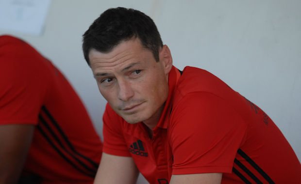 Romain Paturel, l'entraîneur de l'AS Misérieux-Trévoux