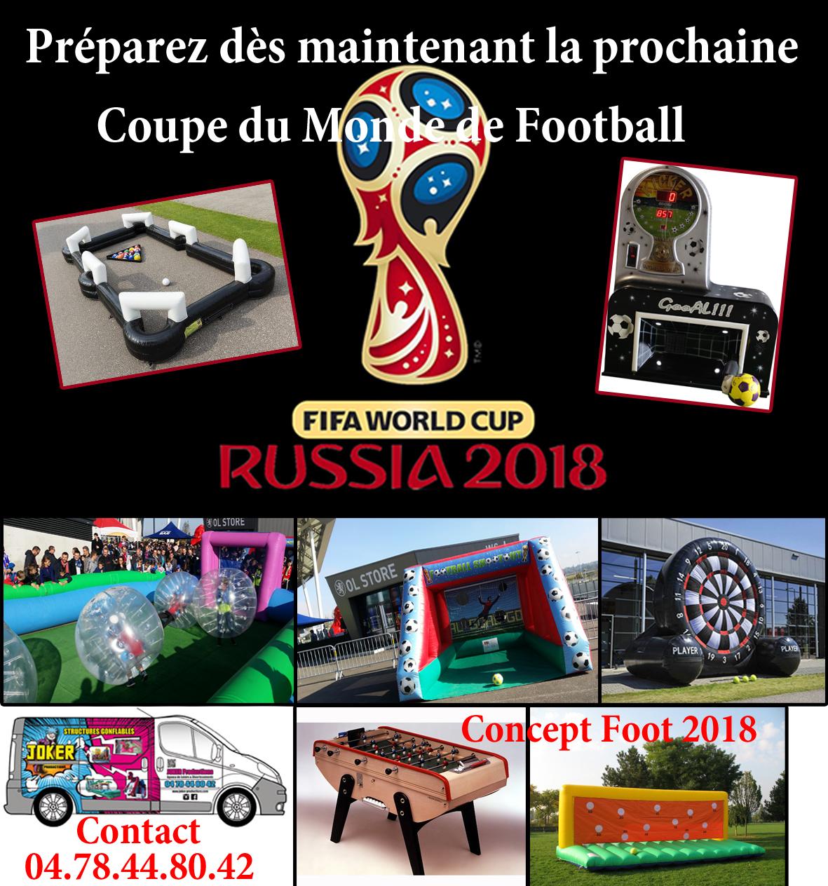 Animations - Pour animer votre Coupe du Monde, JOKER PRODUCTION vous propose...