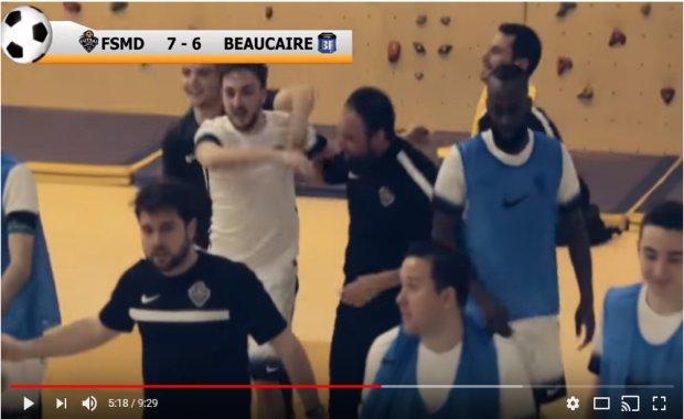 Coupe Nationale Futsal - DS MONT d'OR - Beaucaire Futsal, le film de la rencontre