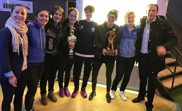 C'est une équipe de jeunes anciennes qui s'est imposée en 2017 lors de la huitième édition des Ladies du Foot Crédit Agricole