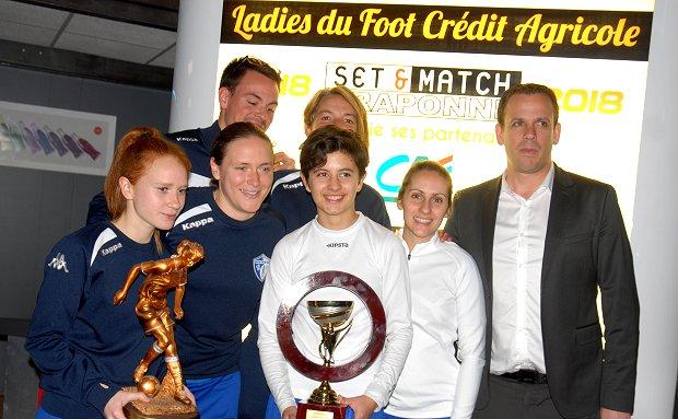 Le Chazay FC, vainqueur 2018