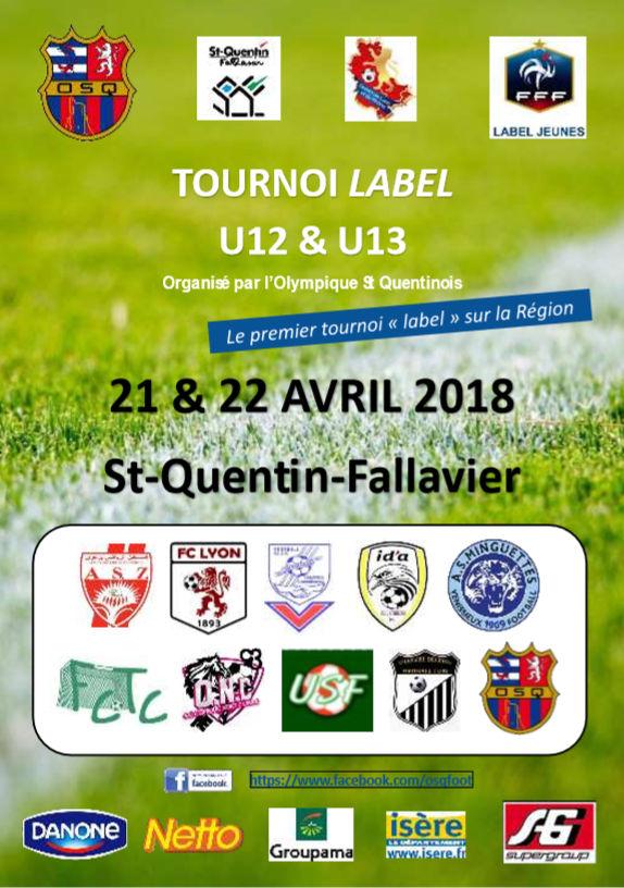 Tournoi U12-U13 - La très bonne idée de l'Olympique SAINT-QUENTIN