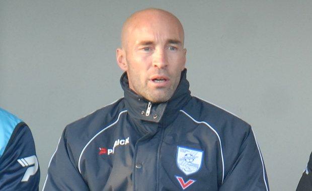 Cyril Legros, l'entraîneur du FC Charvieu
