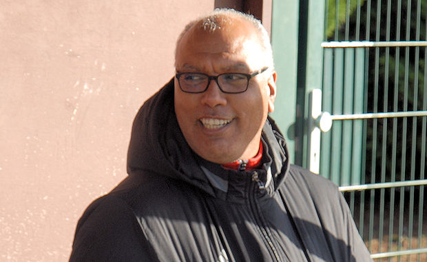 Samir Retbi, l'entraîneur du Caluire SC