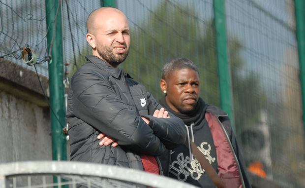 Karim Mokeddem et Ludovic Assemoassa