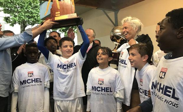 Challenge U12 Michel MAILLARD - L'OL premier vainqueur