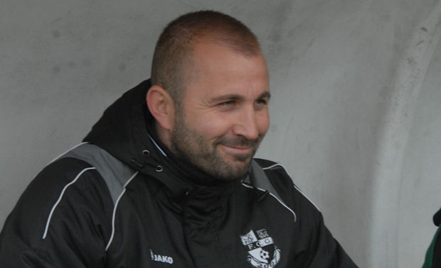 Christophe Emeriat, l'entraîneur du FC Grigny