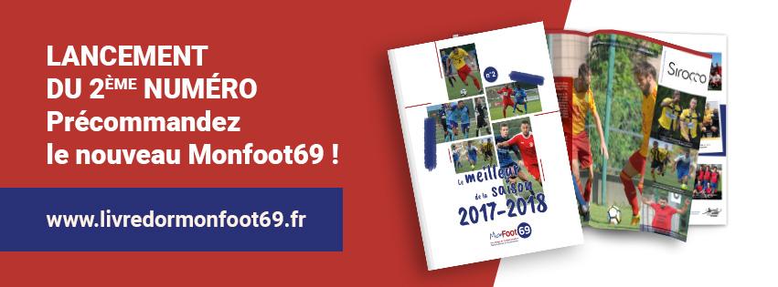 Livres Monfoot69 saison 2017-2018 - Ils sont arrivés !