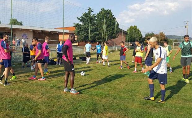 Les entraînements ont repris le 25 juillet dans les Monts du Lyonnais