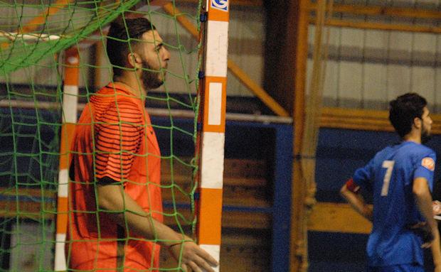 Le gardien Malik Khemar fera figure d'ancien cette saison au FC Vénissieux Futsal