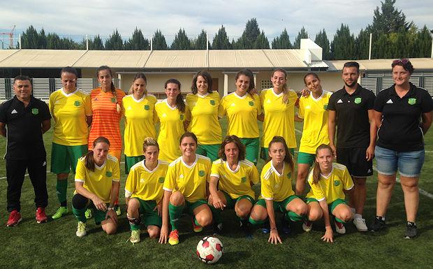 D1F - Ca démarre fort pour les filles du FC BORDS de SAÔNE