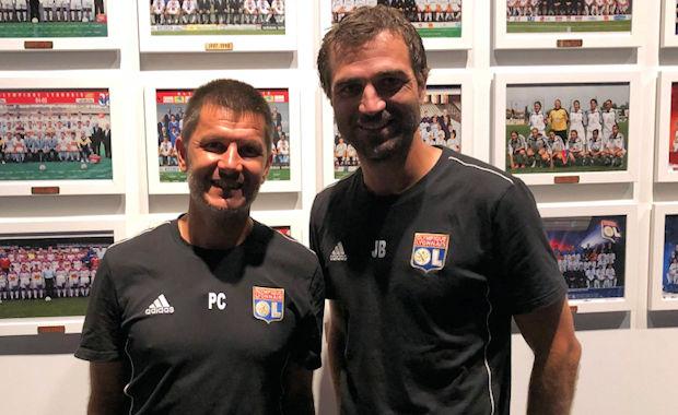 Pierre Chavrondier et Jérémy Berthod ont connu leur première défaite cette saison avec les U17 de l'OL
